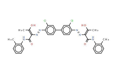 DY559755 | 5468-75-7 | 2,2'-(3,3'-Dichloro1,1'-biphenyl-4,4'-diyl)bis(azo)bisN-(2-methylphenyl)-3-oxobutyramide