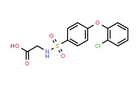MC562967 | 606945-28-2 | ((4-(2-Chlorophenoxy)phenyl)sulfonyl)glycine