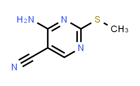770-30-9 | 4-Amino-2-(methylthio)pyrimidine-5-carbonitrile