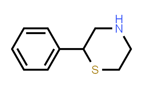 77082-31-6 | 2-PHENYL-THIOMORPHOLINE
