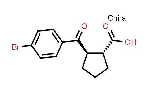 DY572117   791594-13-3   (1R,2R)-2-(4-bromobenzoyl)cyclopentane-1-carboxylic acid