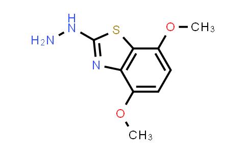 MC576417   872696-10-1   2-Hydrazino-4,7-dimethoxy-1,3-benzothiazole