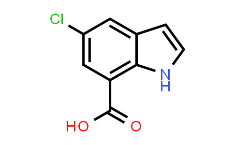 MC576648 | 875305-81-0 | 5-Chloro-1H-indole-7-carboxylic acid