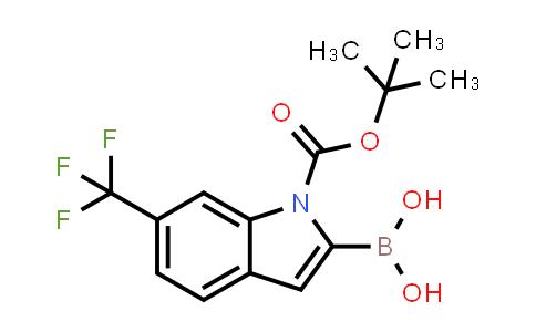 MC576672 | 875558-27-3 | 1H-Indole-1-carboxylic acid, 2-borono-6-(trifluoromethyl)-, 1-(1,1-dimethylethyl) ester (9CI)