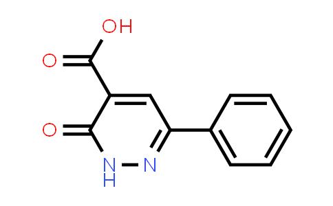 MC576849 | 87769-67-3 | 3-Oxo-6-phenyl-2,3-dihydropyridazine-4-carboxylic acid
