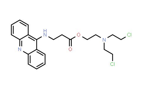 MC576879 | 878189-87-8 | β-Alanine, N-9-acridinyl-, 2-[bis(2-chloroethyl)amino]ethyl ester