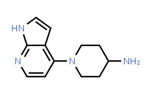 MC577498   885499-57-0   4-Piperidinamine, 1-(1H-pyrrolo[2,3-b]pyridin-4-yl)-