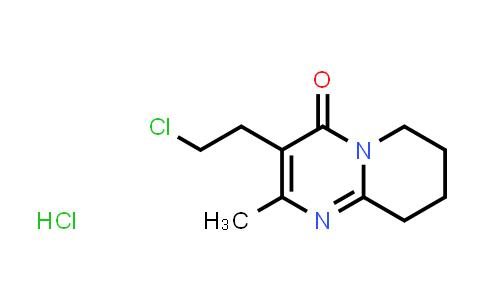 DY580725 | 93076-03-0 | 3-(2-Chloroethyl)-2-methyl-6,7,8,9-tetrahydro-4H-pyrido[1,2-a]pyrimidin-4-one hydrochloride