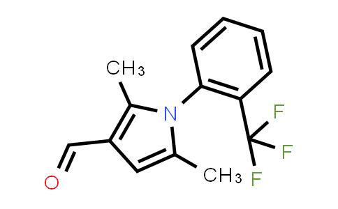 DY580788 | 932226-24-9 | 2,5-Dimethyl-1-(2-(trifluoromethyl)phenyl)-1h-pyrrole-3-carbaldehyde