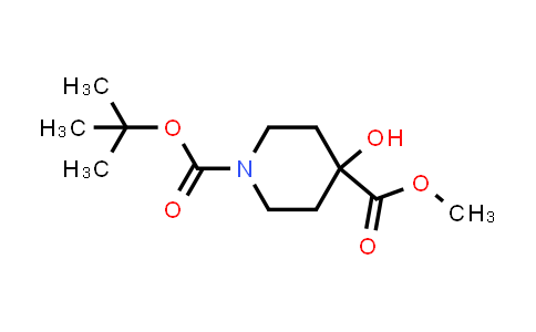 DY583996 | 495415-09-3 | 1-tert-butyl 4-methyl 4-hydroxypiperidine-1,4-dicarboxylate