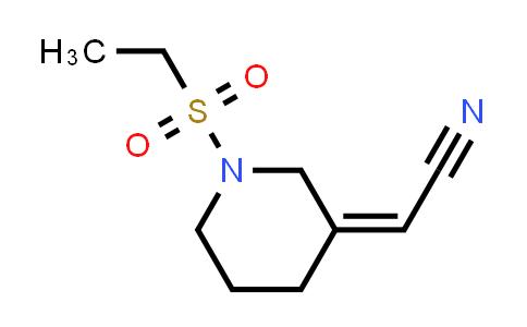 DY584041 | 2102414-94-6 | 2-[(3Z)-1-(ethanesulfonyl)piperidin-3-ylidene]acetonitrile