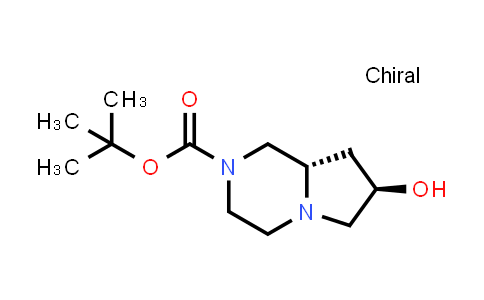 DY584122 | 1204603-42-8 | tert-butyl (7R,8aS)-7-hydroxy-octahydropyrrolo[1,2-a]piperazine-2-carboxylate