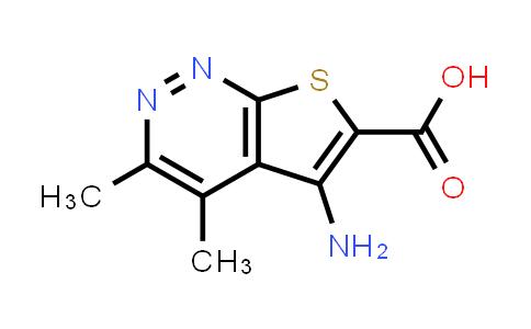 DY584152 | 1452226-14-0 | 5-amino-3,4-dimethylthieno[2,3-c]pyridazine-6-carboxylic acid