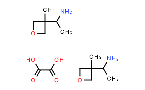 DY584183 | 2102409-45-8 | bis(1-(3-methyloxetan-3-yl)ethan-1-amine); oxalic acid