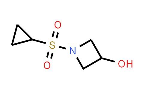DY584186 | 1187594-22-4 | 1-(cyclopropanesulfonyl)azetidin-3-ol