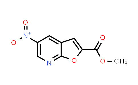 DY584236 | 1083196-30-8 | methyl 5-nitrofuro[2,3-b]pyridine-2-carboxylate