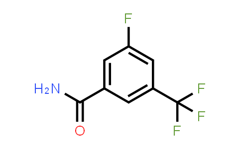 CAS No. 207986-20-7, 3-fluoro-5-(trifluoromethyl)benzamide