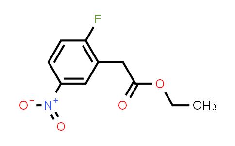 MC584304 | 887132-00-5 | Ethyl 2-fluoro-5-nitrophenylacetate