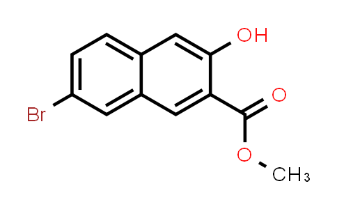 MC584308 | 10155-36-9 | 2-Naphthalenecarboxylic acid, 7-bromo-3-hydroxy-, methyl ester