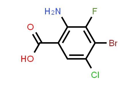 MC584325 | 1698027-17-6 | 2-Amino-4-bromo-5-chloro-3-fluorobenzoic acid