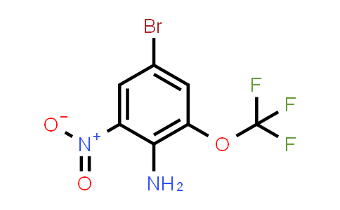 MC584333 | 1257535-31-1 | 4-Bromo-2-trifluoromethoxy-6-nitroaniline