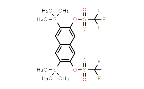 DY584452 | 947488-89-3 | 3,6-Bis(trimethylsilyl)naphthalene-2,7-diyl Bis(trifluoromethanesulfonate)