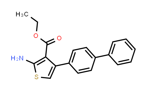 DY584491 | 307343-50-6 | ethyl 2-amino-4-(biphenyl-4-yl)thiophene-3-carboxylate