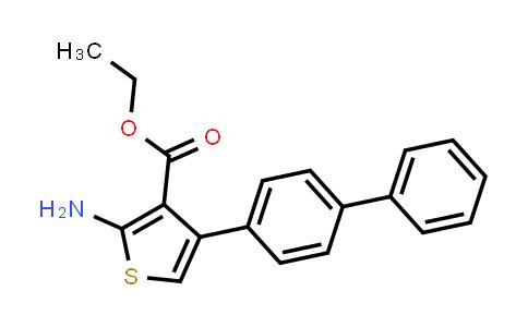 DY584491 | 307343-50-6 | ethyl 2-amino-4-(biphenyl-4-yl)thiophene-3-carboxylate