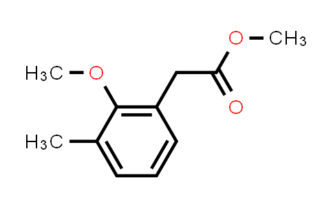 DY584717 | 1261827-91-1 | Methyl 2-methoxy-3-methylphenylacetate