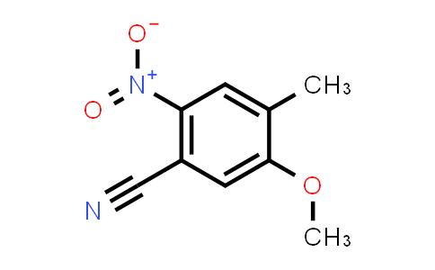 DY584926 | 959137-56-5 | 5-Methoxy-4-methyl-2-nitro-benzonitrile