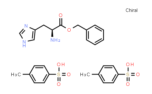 DY585286 | 24593-59-7 | (S)-Benzyl 2-amino-3-(1H-imidazol-4-yl)propanoate bis(4-methylbenzenesulfonate)
