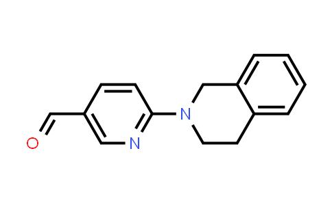 DY585499 | 1355230-24-8 | 6-(1,2,3,4-tetrahydroisoquinolin-2-yl)pyridine-3-carbaldehyde