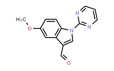 DY585501   886361-96-2   5-methoxy-1-(pyrimidin-2-yl)-1H-indole-3-carbaldehyde