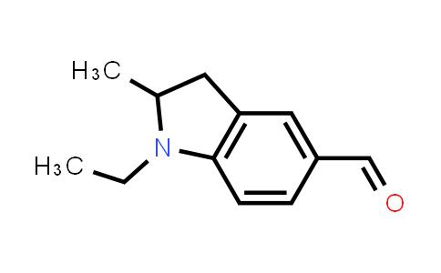 DY585505   887690-40-6   1-ethyl-2-methyl-2,3-dihydro-1H-indole-5-carbaldehyde