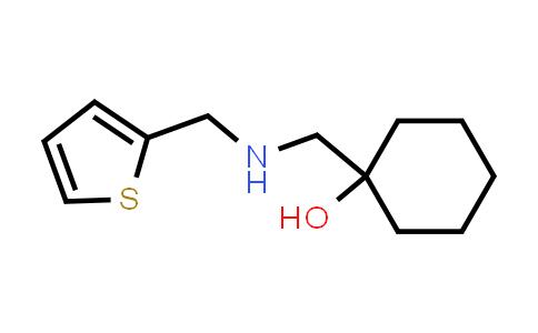 DY585534 | 1178420-62-6 | 1-({[(thiophen-2-yl)methyl]amino}methyl)cyclohexan-1-ol