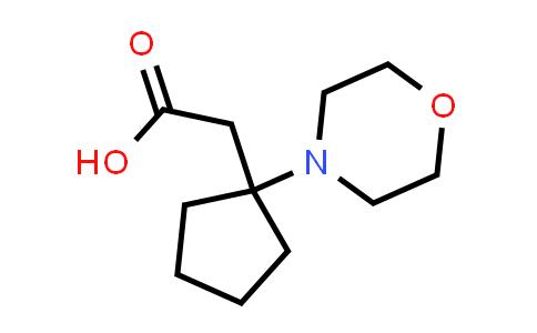 DY585754 | 1315449-53-6 | 2-(1-morpholinocyclopentyl)acetic acid