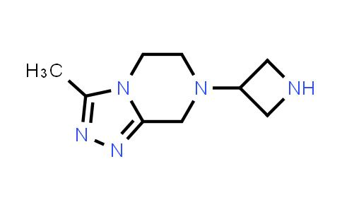 DY585809 | 1699465-14-9 | 7-(azetidin-3-yl)-3-methyl-6,8-dihydro-5H-[1,2,4]triazolo[4,3-a]pyrazine