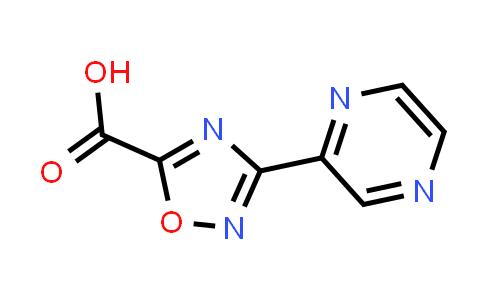 DY585859 | 1313815-37-0 | 3-pyrazin-2-yl-1,2,4-oxadiazole-5-carboxylic acid