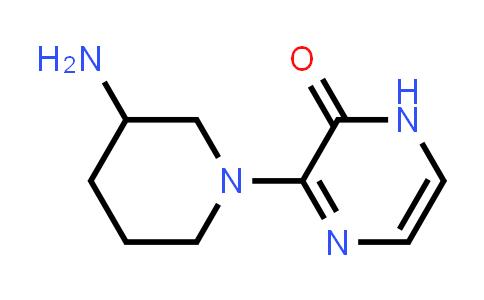 DY585860 | 1597062-59-3 | 3-(3-amino-1-piperidyl)-1H-pyrazin-2-one