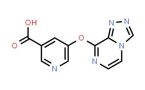 DY585866 | 1421662-48-7 | 5-([1,2,4]triazolo[4,3-a]pyrazin-8-yloxy)pyridine-3-carboxylic acid