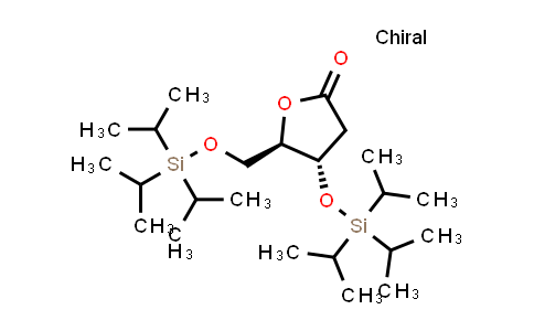 DY585954 | 1173700-22-5 | (4S,5R)-4-triisopropylsilyloxy-5-(triisopropylsilyloxymethyl)tetrahydrofuran-2-one