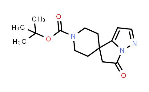 DY586204   2413983-01-2   tert-butyl 6-oxospiro[5H-pyrrolo[1,2-b]pyrazole-4,4'-piperidine]-1'-carboxylate
