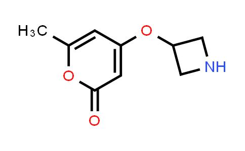 DY586292 | 1706453-78-2 | 4-(azetidin-3-yloxy)-6-methyl-2H-pyran-2-one