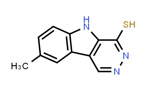 DY586305 | 950094-55-0 | 8-methyl-5H-pyridazino[4,5-b]indole-4-thiol