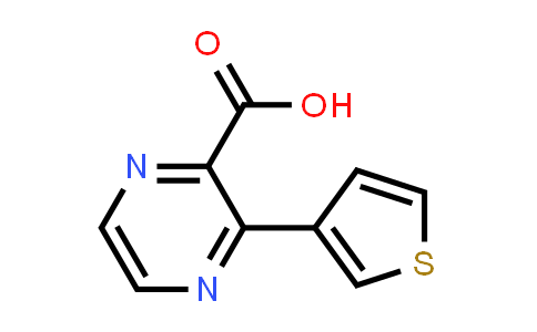 DY586331 | 1823549-46-7 | 3-(thiophen-3-yl)pyrazine-2-carboxylic acid