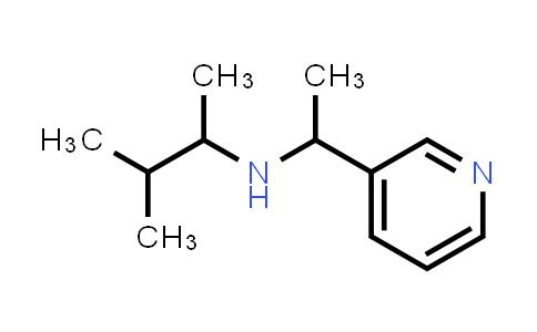 DY586350 | 1042582-75-1 | (3-methylbutan-2-yl)[1-(pyridin-3-yl)ethyl]amine
