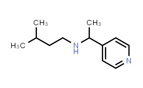 DY586355 | 1019497-53-0 | (3-methylbutyl)[1-(pyridin-4-yl)ethyl]amine