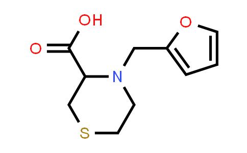 DY586371 | 1543418-92-3 | 4-[(furan-2-yl)methyl]thiomorpholine-3-carboxylic acid