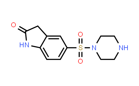 DY586378   848369-76-6   5-(piperazine-1-sulfonyl)-2,3-dihydro-1H-indol-2-one
