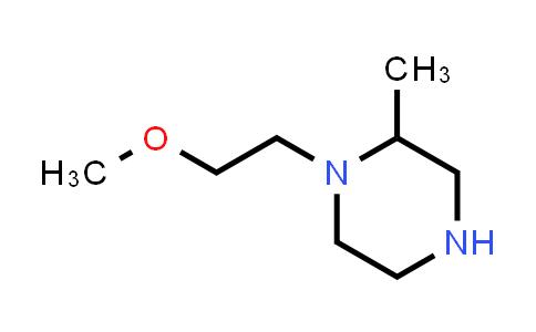 DY586393   1225603-87-1   1-(2-methoxyethyl)-2-methylpiperazine